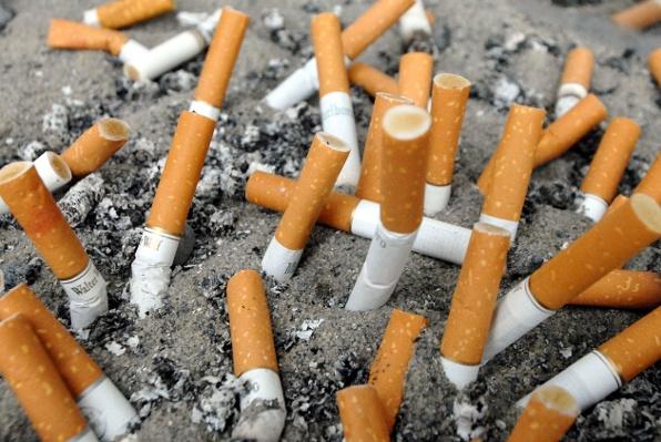 Groblje cigareta.