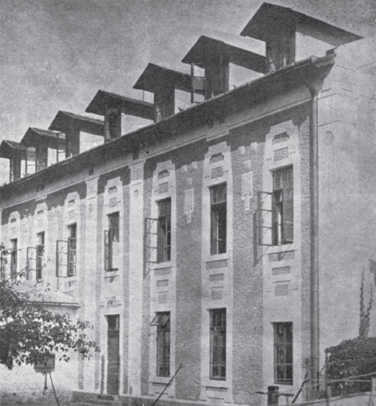 Radnički dom kojeg je Fabrika izgradila 1920. godine