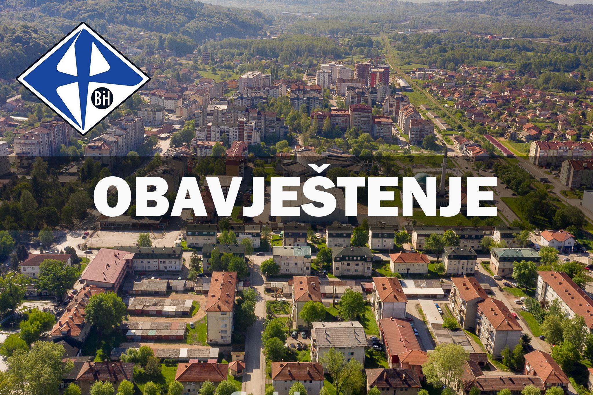 Planska isključenja električne energije na dijelovima Općine Lukavac
