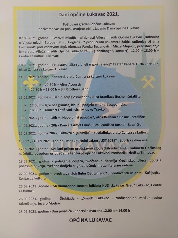 Dani općine Lukavac 2021.