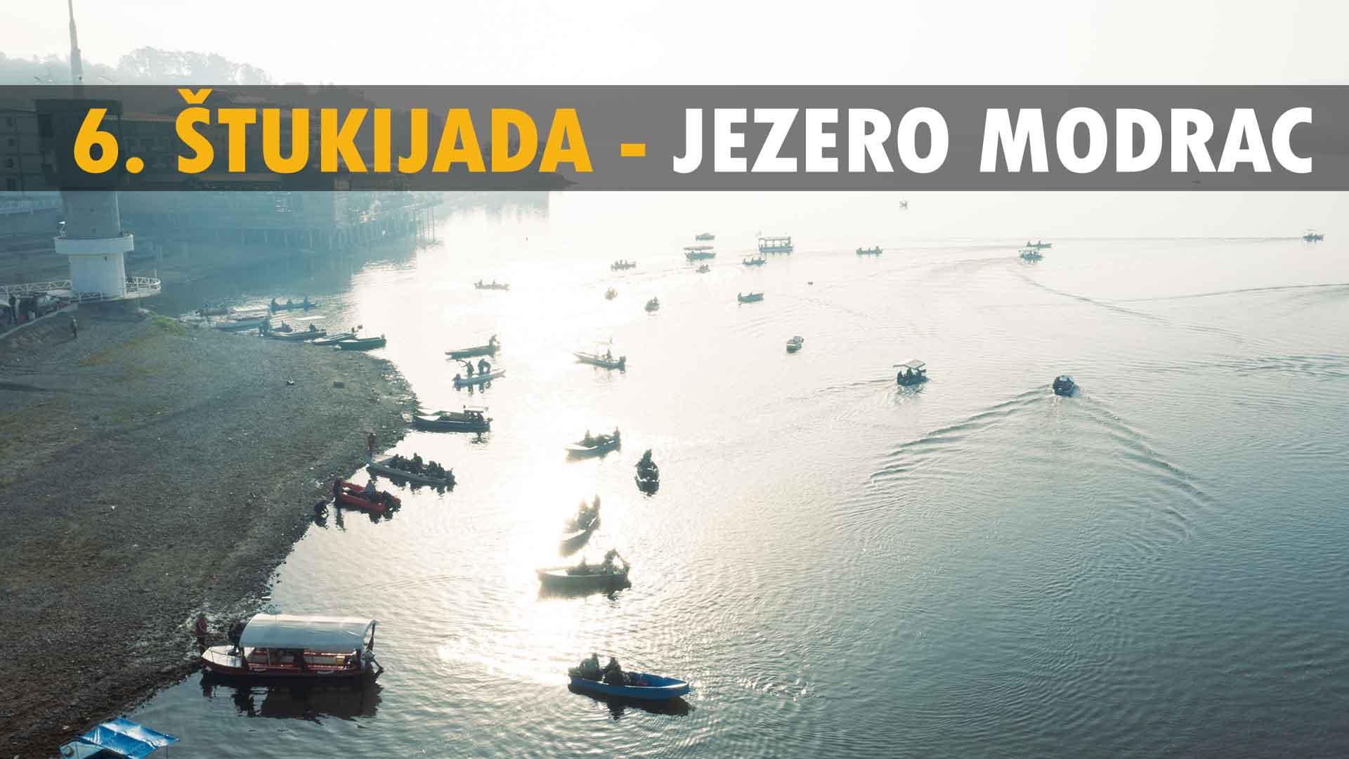 """Na jezeru Modrac održana 6. Štukijada u organizaciji SRD """"Smuđ"""" Lukavac / VIDEO"""