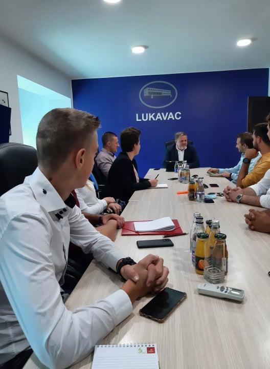 Svečani prijem za Vijeće mladih općine Lukavac