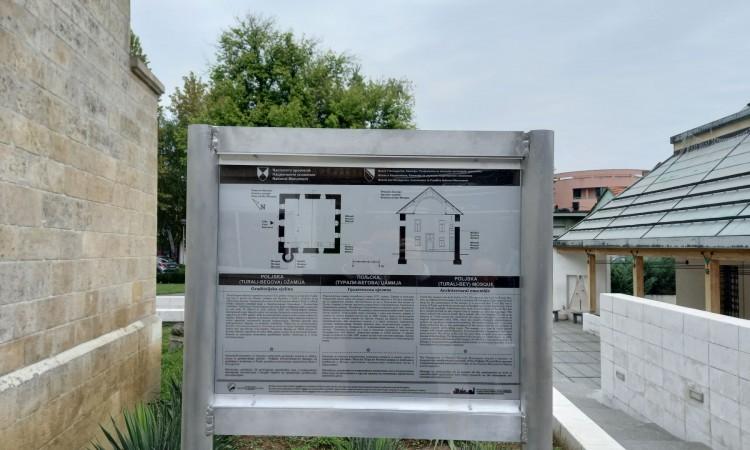 Postavljena prva informaciona tabla za nacionalni spomenik u TK