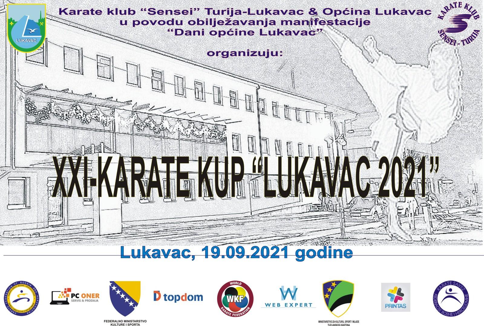 """NAJAVA: Karate kup """"Lukavac 2021"""""""