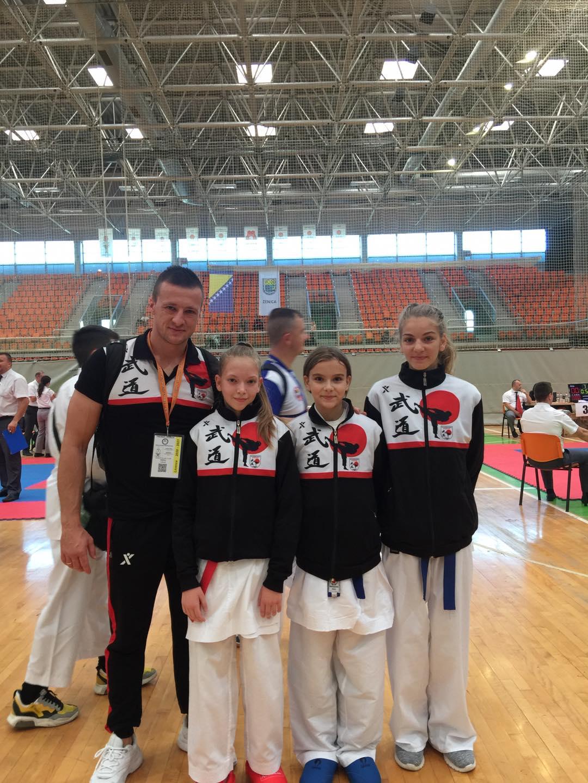 Titula viceprvaka države i dvije bronze za takmičarke ORKKA-e